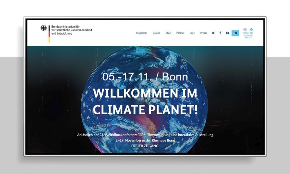 TAG:EINS Webdesign & Social Media Marketing | Klimakonferenz 2017