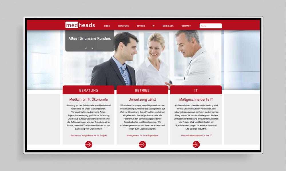 TAG EINS Webdesign & Social Media Marketing | Healthcare